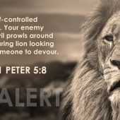 Resist The Prowling Lion